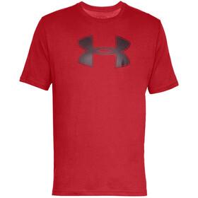 Under Armour Big Logo Short Sleeve Shirt Men, rood